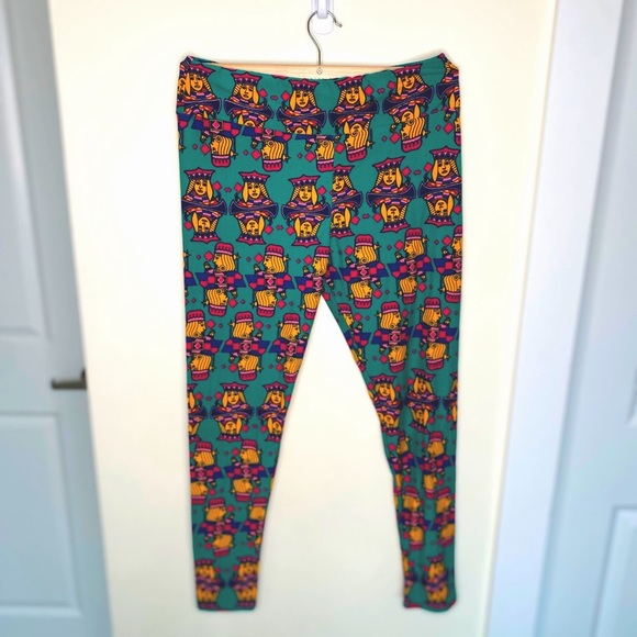 LULAROE (tall and curvy) king/queen leggings